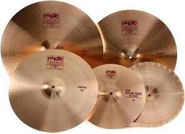 "Paiste Set Kit ""2002"": HH14 Sound Edge , Crash18 , Crash20 , Ride22, imballati!"