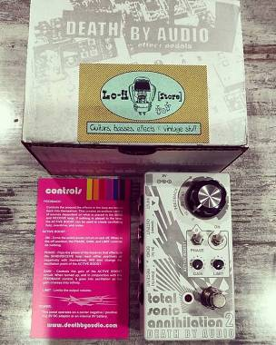 Death by Audio Total Sonic Annihilation 2 Feedback Looper - IN PRONTA CONSEGNA!