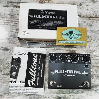 Fulltone Full-Drive3 Independent Clean Boost Channel - IN PRONTA CONSEGNA!