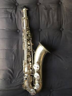 Sax Selmer Super balanced action SBA Sassofono Tenore perfetto argento originale