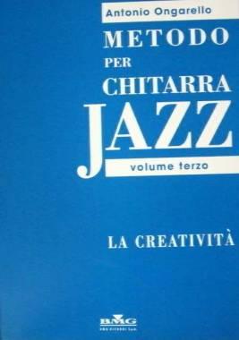Edizioni musicali ONGARELLO METODO X CHIT. JAZZ VOL.3o CRE -MLR557-