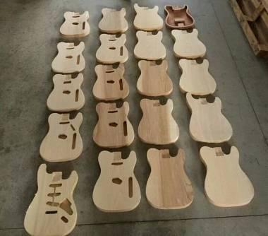 Factory Guitars: LAVORAZIONE BODY VARI