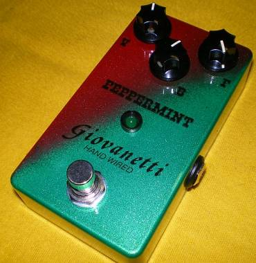 Giovanetti Hand Wired Analogman Peppermint Fuzz clone