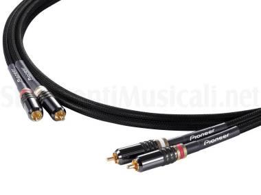Pioneer Das-rca020r Rca Analog Cable (pair) - Cavo Audio Stereo Rca M - Rca M 2mt