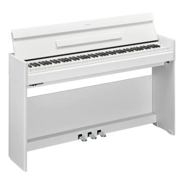 YAMAHA ARIUS YDPS54 BIANCO PIANOFORTE DIGITALE A MOBILE