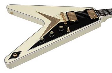 Gibson Custom Shop Flying V Les Paul Vintage White (scambio con maestro)