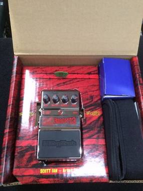 DigiTech Scott Ian Signature Black 13 Distortion Distorsore spedizione inclusa