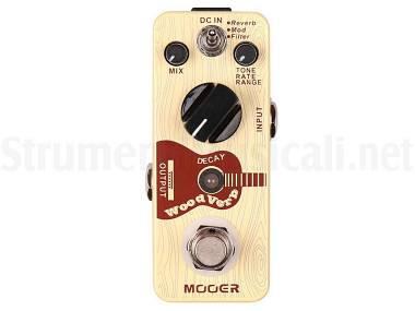 Mooer Woodverb - Effetto Riverbero A Pedale Per Chitarra Acustica