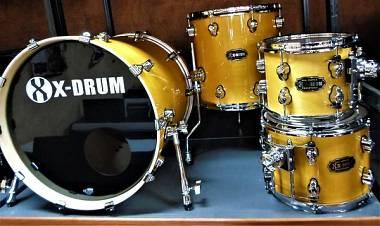 X-Drum - Batteria Pro Stage II - Ambra - 20x18  10x8  12x8  14x14