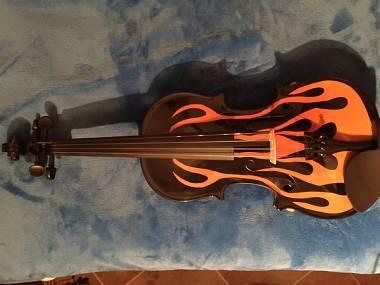 Violino fiammato