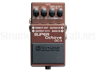 Boss Oc-3 Super Octave - Effetto Octaver A Pedale Per Chitarra