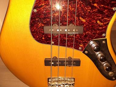 Basso elettrico Squier by Fender Jazz bass vintage modified