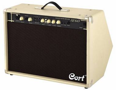 Cort AF60 Acoustic Amp Amplificatore per Chitarra Acustica 60W - Spedito Gratis