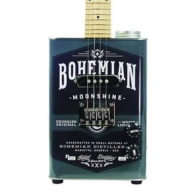 Bohemian Moonshine  Ukulele Soprano Elettrificato