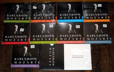 BAREBOIM MOZART 9 CD AUDIO