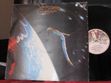 THE QUIET ZONE - THE PLEASURE DOME, VAN DER GRAAF, LP ITALY 1977, CHARISMA 9124