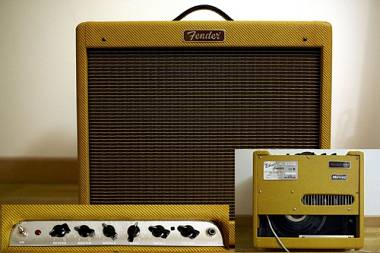 Fender Blues Junior -  Lacquered Tweed - Limited Edition