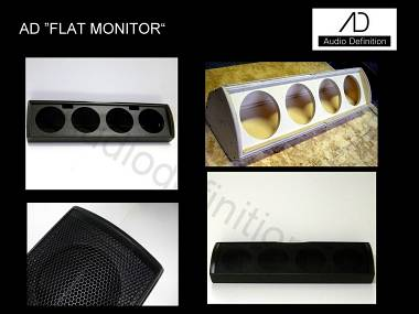"AUDIO DEFINITION P.A. ""FLAT MONITOR"""