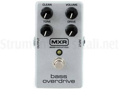 Mxr Bass Overdrive - M89 - Effetto Overdrive A Pedale Per Basso