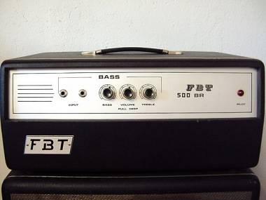 Vintage: FBT 500 BR Valvolare