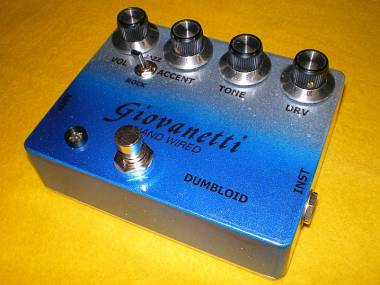 Giovanetti Hand Wired Shin's Music Dumbloid Special clone