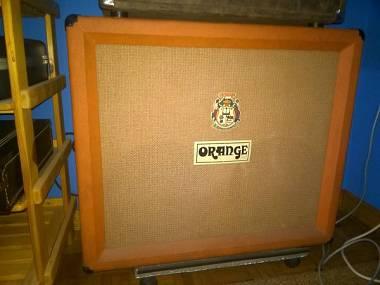 Orange Cassa 2x12 Vintage 1971 coni Fane Sound City Dallas Arbiter 122/190