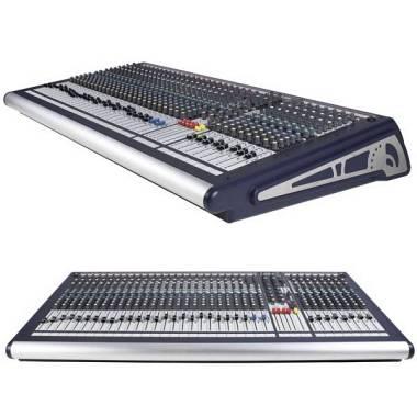 Soundcraft GB2 24 canali + Flight Case in legno. Spedizione Inclusa