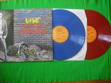 Lou Reed Live Take No Prisoners 2 lp vinile Blu e Rosso