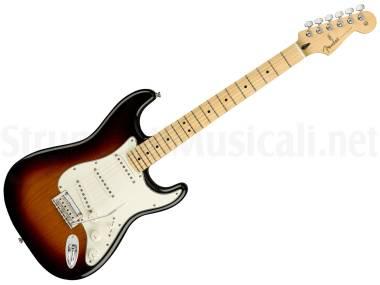 Fender Player Stratocaster Mn 3c Sunburst - Chitarra Elettrica Sunburst 3 Colori
