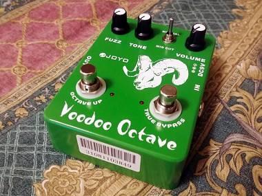 Joyo Voodoo Octave - octave fuzz come nuovo - già modificato