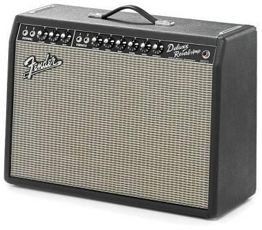 """Fender  Deluxe Reverb '65 - AMPLIFICATORE VALVOLARE PER CHITARRA 1x12"""" -  22W"""
