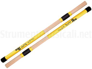 Vic Firth Tw12 Steve Smith Tala Wand Birch - Spazzole In Listelli Di Betulla
