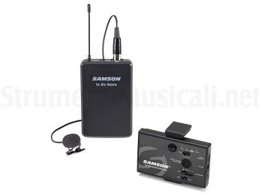 Samson go mic mobile lavalier system sistema microfonico