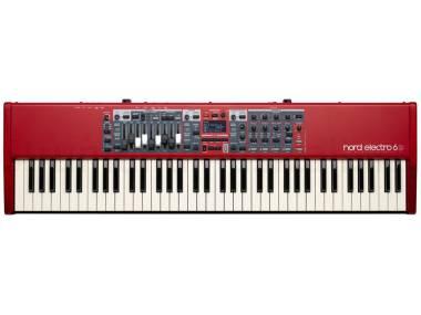 Nord Electro 6d 73 - Pianoforte Digitale 73 Tasti Semipesati Rosso