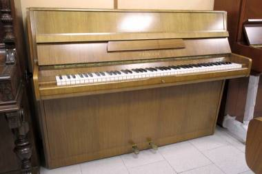 Feurich pianoforte acustico verticale cm 102 - faggio chiaro