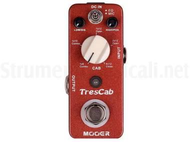 Mooer Trescab - Cab Simulated Pedal - Simulatore Digitale Di Cabinet Per Chitarra