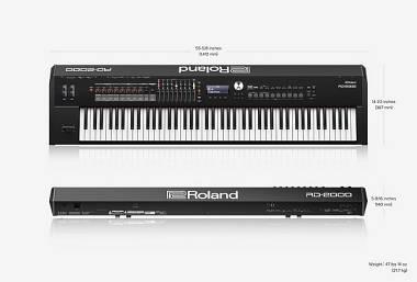 Roland RD2000 + Flightcase