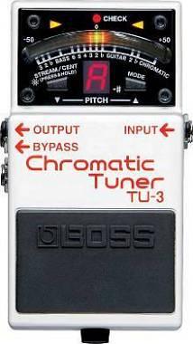 Boss TU-3 Accordatore cromatico a pedale