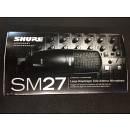 Shure SM 27 Microfono Strumenti Condensatore