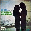 RCA Claudio Baglioni – E Tu
