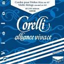 Savarez alliance 800mb corelli (muta corde violino) mi pallino
