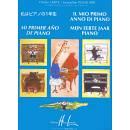 """Charles HERVE' Jacqueline POULLARD """"IL MIO PRIMO ANNO DI PIANO"""" METODO PER PIANOFORTE LIBR"""