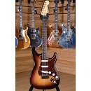 Fender American Deluxe Stratocaster Rosewood Fingerboard 3 Color Sunburst 2007 Modded( Lindy Fralin