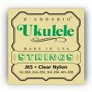D'Addario - [J65] Muta corde per Ukulele