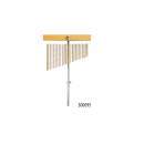 BAR CHIMES CROSON COMET CHS-25 DA 25 BARRE IN ALLUMINIO CON SUPPORTO