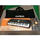 CASIO SA-76 Tastiera con 44 Minitasti con Borsa