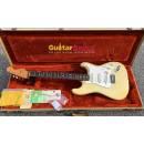 Fender Fullerton Stratocaster 62 Olympic White Original American Vintage AVRI 1984 Used