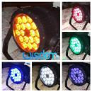 Par led Ip65 waterproof 18x18 Rgbwa + uv 6in1 full color