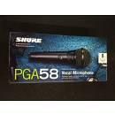 Shure PGA 58 Microfono Dinamico Cardioide