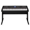 Yamaha DGX660B portable grand - pianoforte digitale e arranger con supporto